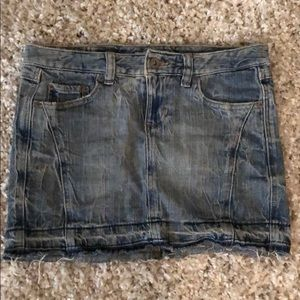 Tommy denim miniskirt
